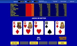 Bonus poker thunderbolt