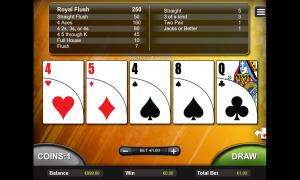 Double Bonus Poker thunderbolt