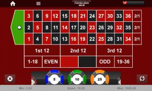 European roulette thunderbolt