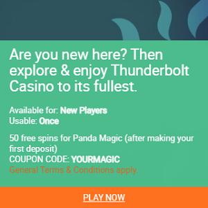 thunderbolt First Spins